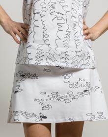 falda pececillos