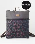 agotada mochila sostenible bosque rosa