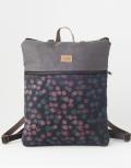mochila sostenible bosque rosa