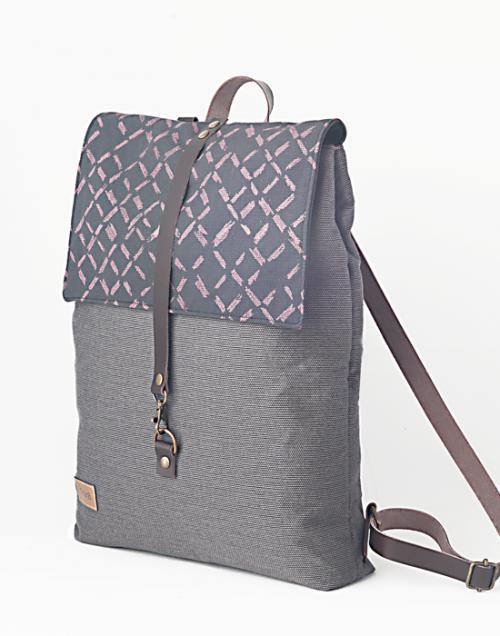 mochila sostenible vista desierto rosa