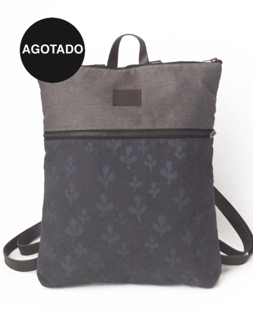 mochila sostenible algodon organico