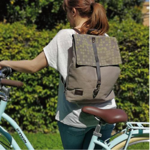 mochila sostenible