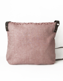 bolso sostenible trasera crisb rosa