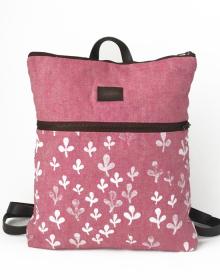 mochila sostenible en tejidos ecologicos