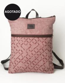 mochila de lino ecológico Cris B