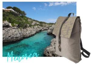 Mochila sostenible para tu viaje