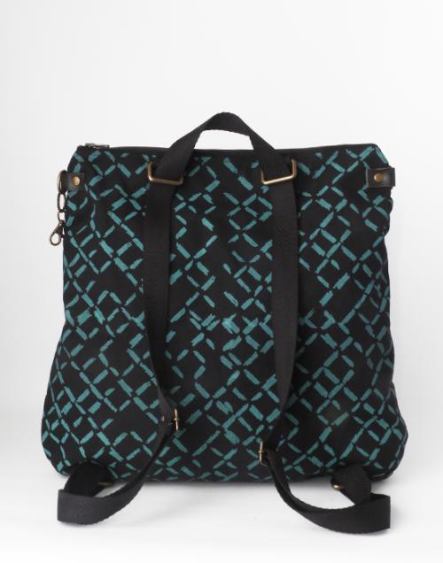 bolso mochila algodón ecológico Cris B