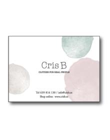 tarjeta regalo Cris B