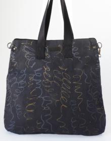 bolso mochila algodon organico