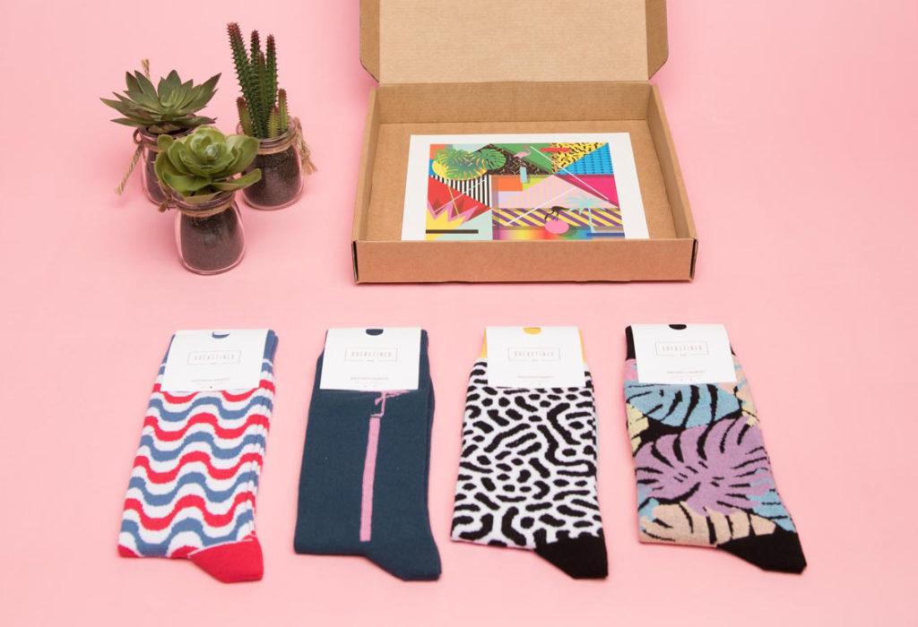 calcetines regalo sostenible navidad cris b