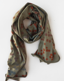 fulard largo algodon vegano crisb