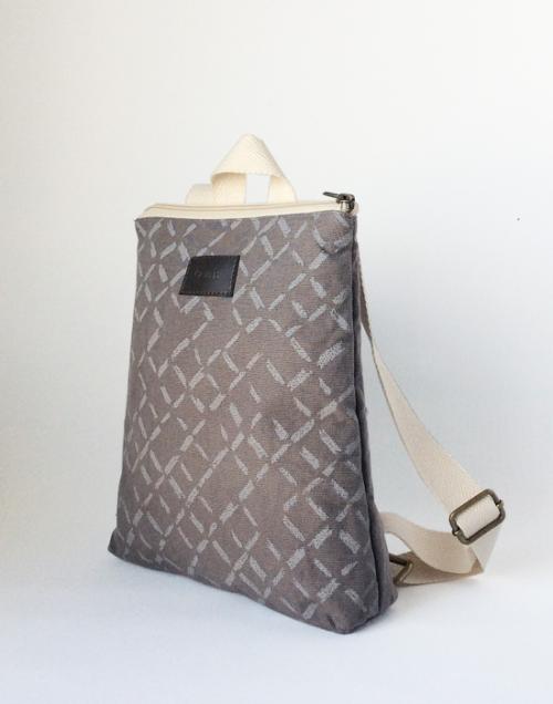 mochila ecologica niño lateral