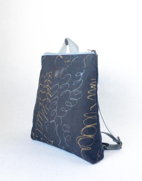mochila sostenible niño ecologica