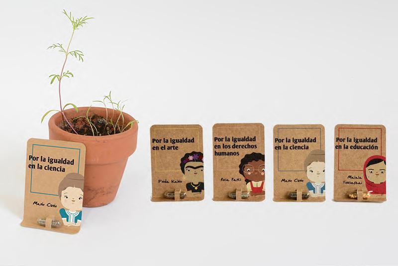 tarjetas plantables regalo sostenible navidad 1
