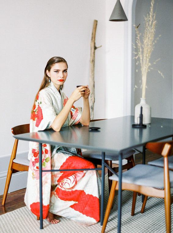 kimono larca regalo sostenible