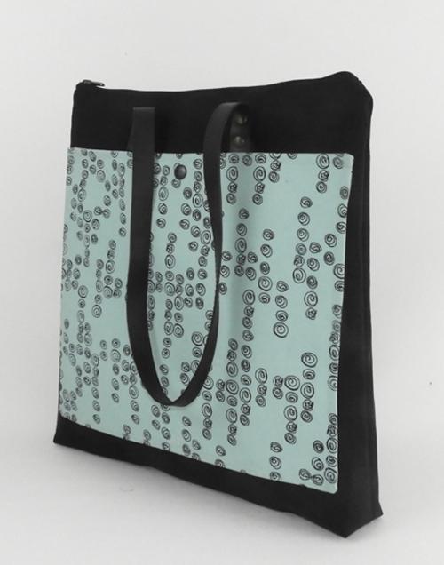bolso sostenible en tejido reciclado cris b
